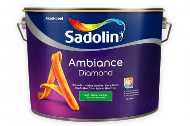 "DAŽAI ""SADOLIN AMBIANCE DIAMOND"" (A BAZĖ) 0,5L"