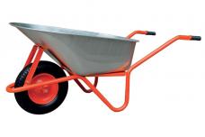Karutis oranžinis T066C 100L, 200kg pripučiamais ratais