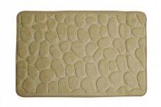 Kilimėlis voniai 60X95 Rimini, smėlio spalvos