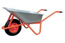 Karutis oranžinis T066B 85L, 200kg pripučiamais ratais