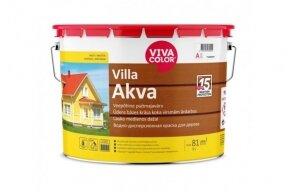 Dažai matiniai medienai Vivacolor Villa-Akva A 9 l