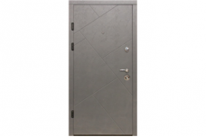 Buto durys MAGDA T12-157 86D šviesus betonas