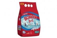 Skalbimo milteliai BONUX White, Polar Ice Fresh, 3kg./40sk.