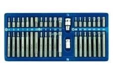 Vorel 66400 Torx/Hex/Spline antgalių k-tas 40vnt.