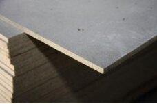 Cemento ir pjuvenų plokštės CETRIS 8x745x1250mm