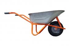 Karutis oranžinis WB777 PROFI 85L, 200kg pripučiamais (pilkais) ratais 8 sluoksnių