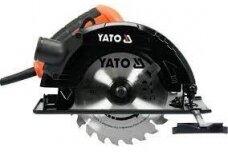 Pjūklas diskinis 1500W, 185mm Yato