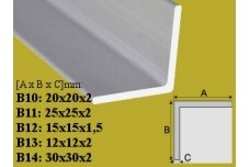 Profilis Effector, kampinis,  B11, 100 cm
