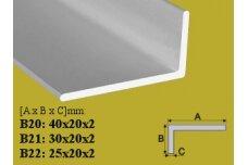 Profilis Effector, kampinis, B20, 100 cm