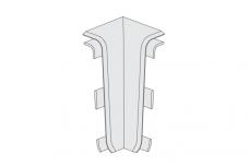 PVC KAMPAS VIDINIS ESQUERO GRINDJUOSTEI (PAK.-2VNT) 633 SENDINTAS ĄŽUOLAS