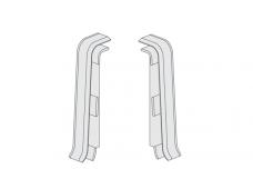 PVC Užbaigimas (pak.-2VNT) 608 ESQUERO grindjuostei