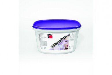 Silikoninis dekoratyvinis tinkas  SILIKONTOP 2mm KRATZ (SAMANĖLĖ) 25kg
