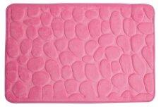 Kilimėlis voniai 60x95 Rimini, rožinis