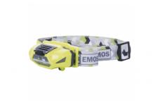 Galvos žibintuvėlis EMOS, 3W+2LED, 1xAA